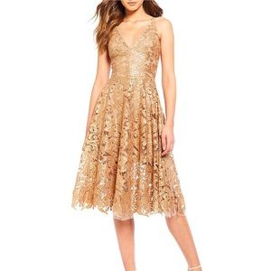 NEW sequin and embroidery dress
